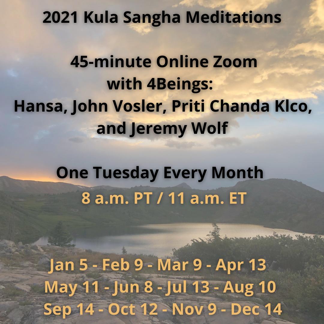 Kula Sangha Meditations