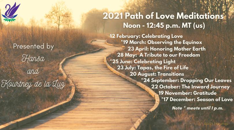 2021 Path of Love